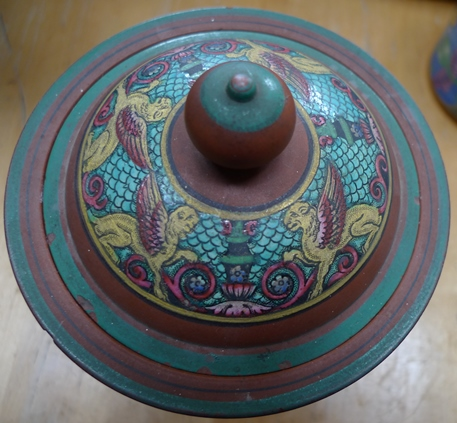 tobacco jar lid